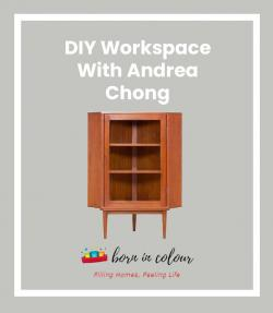 Andrea Chong IG Live DIY Workspace Feature