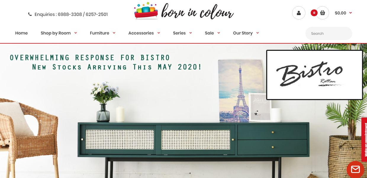 Born in Colour Website Featured in Best in Singapore Blog