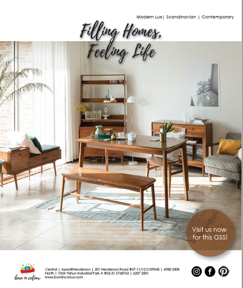 SquareRooms Magazine Singapore May / June 2020 Page 11 Fika Swedish Collection
