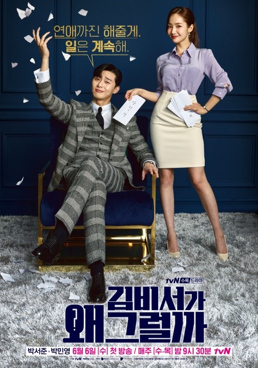 What's Wrong With Secretary Kim Poster Cover