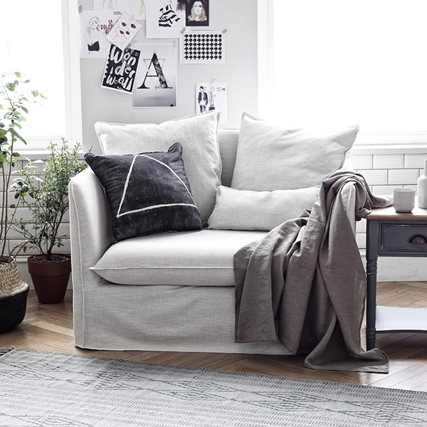 Parisienne French Classic Armchair Sofa White Cream