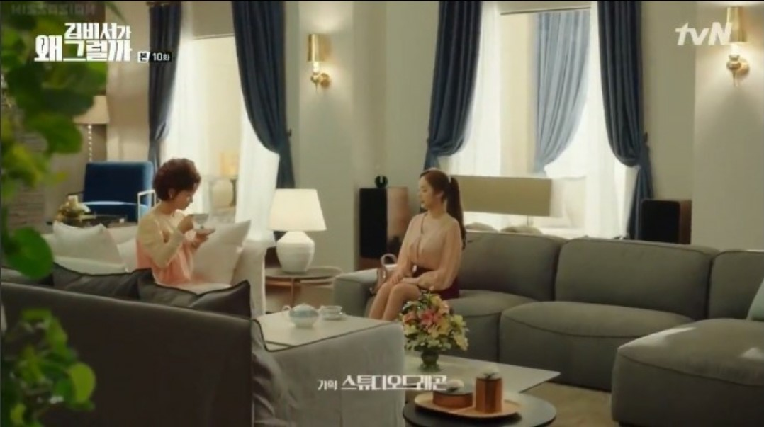 What's Wrong With Secretary Kim Parisienne French Classic Sofa Feature