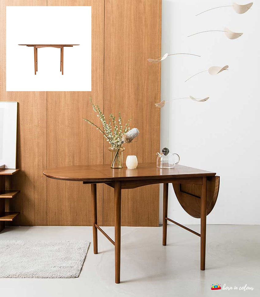 Swedish Extendable Oval Dining Table