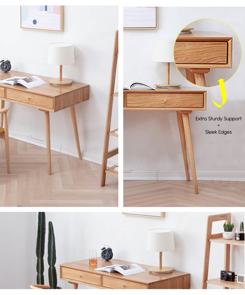 Guri_Scandinavian_Solid_Wood_2_Drawer_Study_Table_finepoints_specs_by_born_in_colour