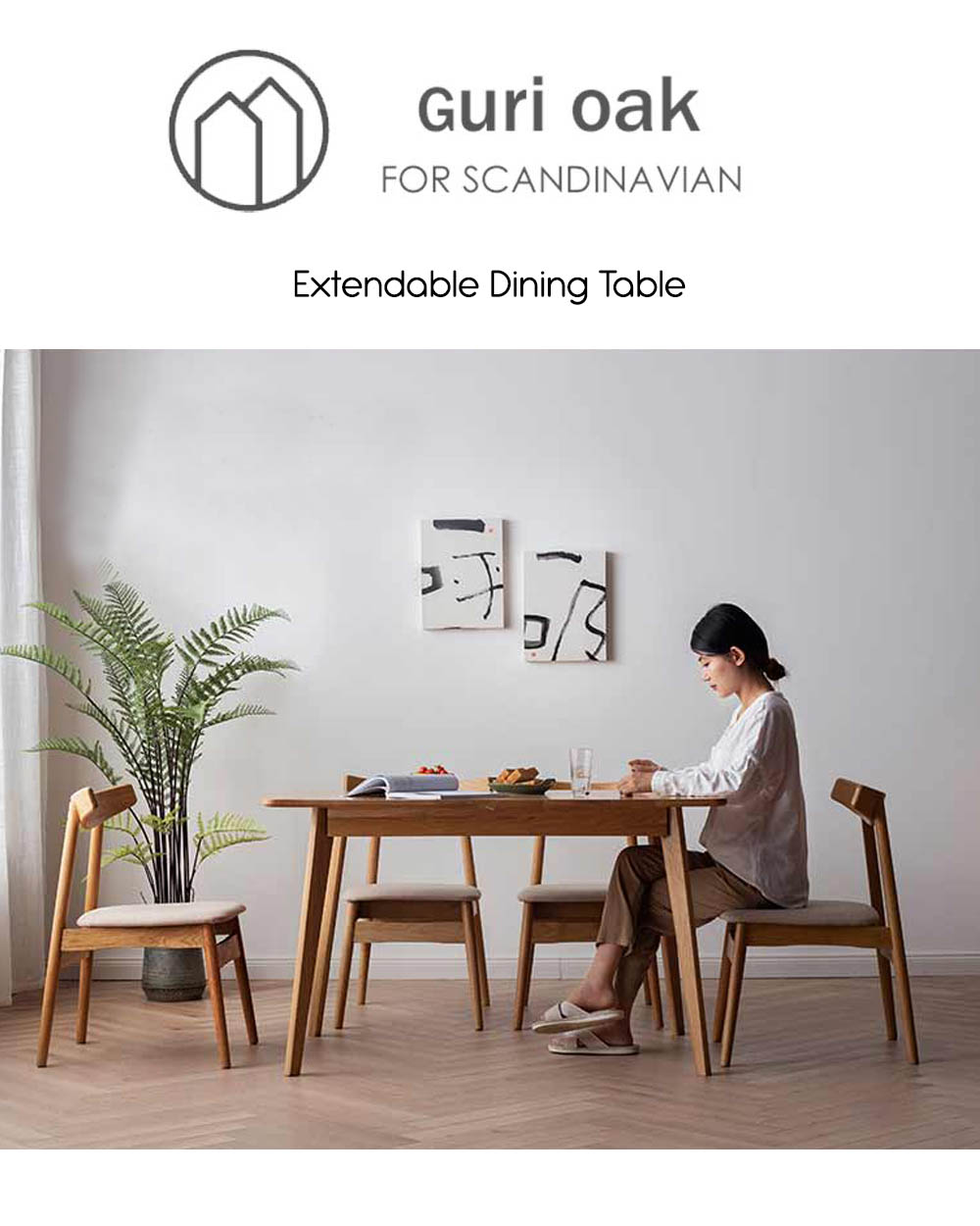 Guri_Scandinavian_Solid_Wood_Extendable_Dining_Table_cover_specs_by_born_in_colour