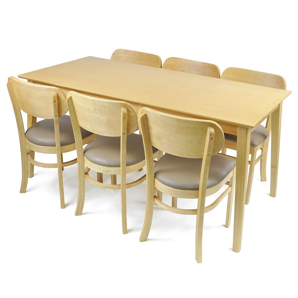 Kokoro Scandinavian 6 Seater Dining