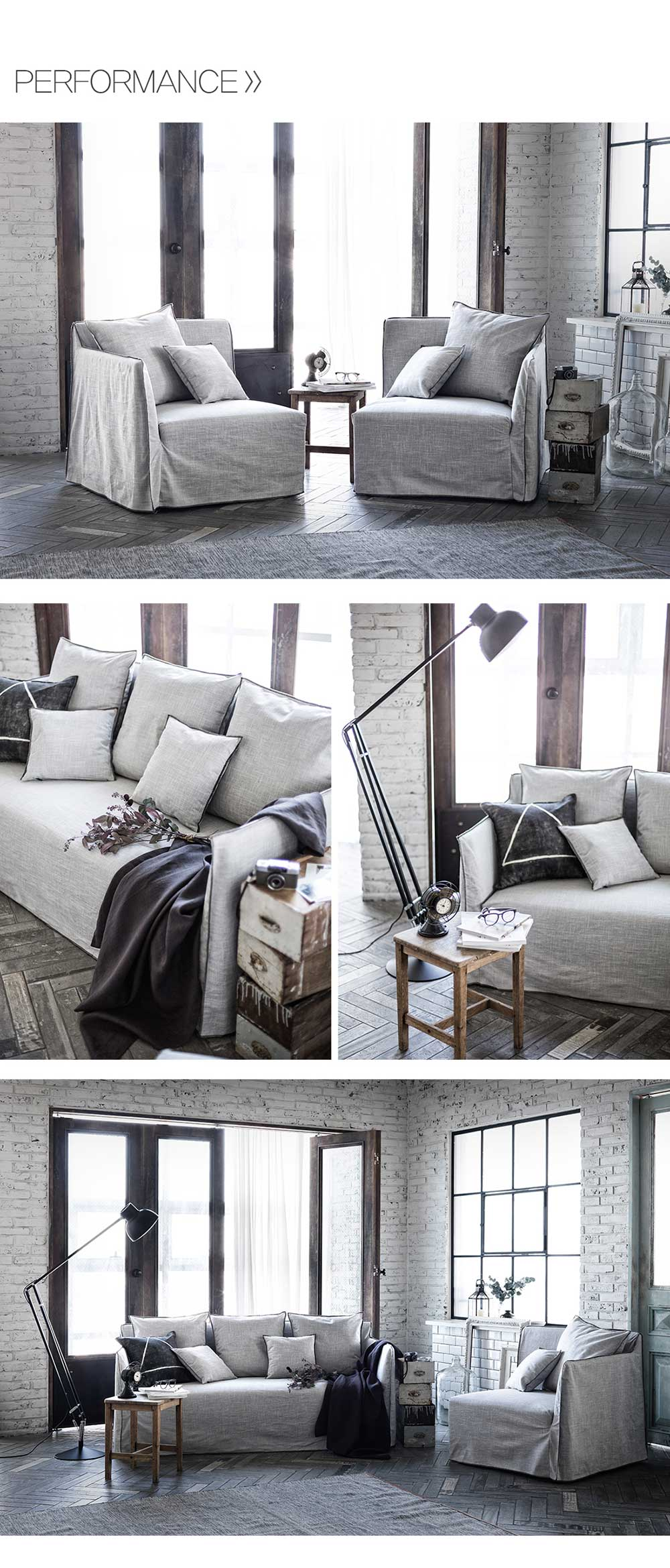 Londoner_Kinfolk_Industrial_Armchair_Sofa_(RIGHT)_(Woven Beige)_Online_Furniture_Singapore_Performance_by_born_in_colour
