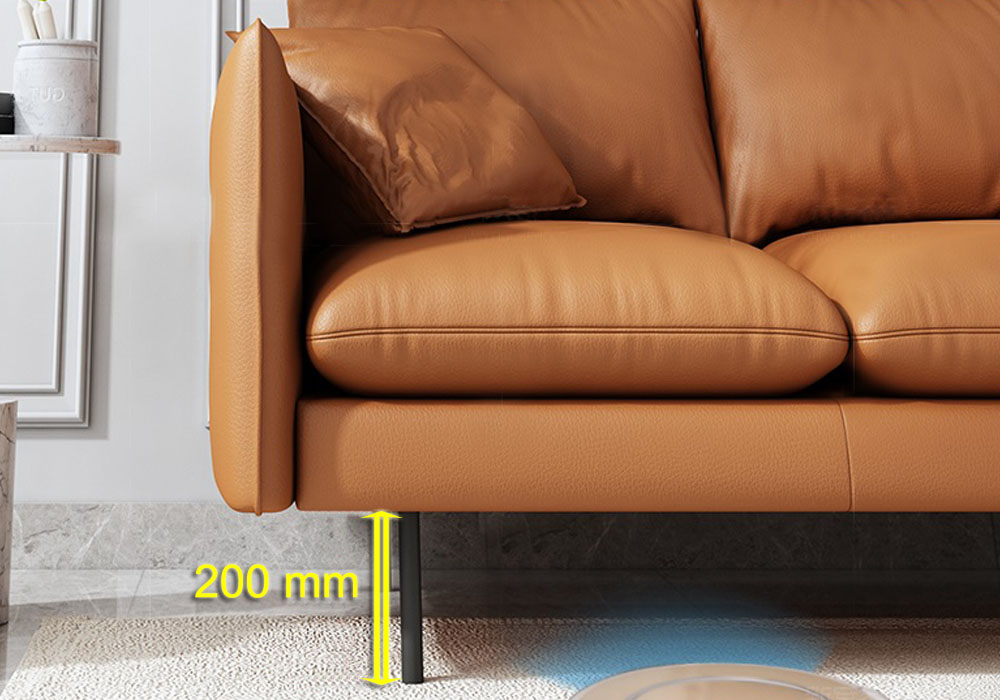 Ethan_Plush_3_Seater_Faux_Leather_Sofa_Elevated_Legs_Highlight_specs_by_born_in_colour