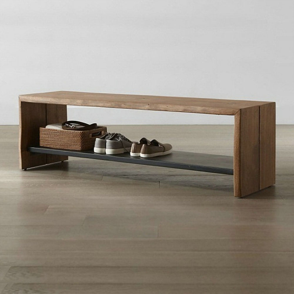 Tav foyer shoe bench customizable