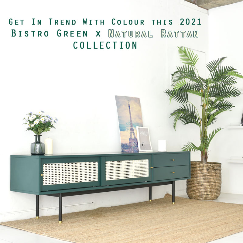 Bistro Rattan Collection with Free Delivery by Born in Colour
